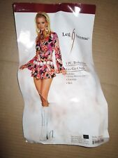Womens BOHEMIAN GO GO OUTFIT sexy Halloween Costume S Sm / M MD leg avenue