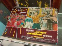 ... ALTRIMENTI CI ARRABBIAMO ! fotobusta originale 1974 HILL SPENCER tipo B