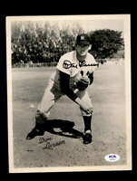 Don Larsen PSA DNA Coa Hand Signed 8x10 Photo Yankees Autograph