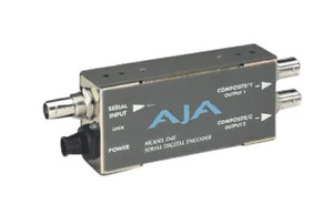 AJA Video Model D4E Serial Digital Encoder - ٍ]SDI to Composite
