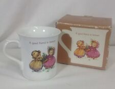 Vintage Hallmark Coffee Mug Good Friend is Forever Friends Are for Keeps Tea Cup