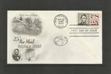 USA 25c AIR MAIL POSTAGE STAMP APRIL 22nd 1960 FDC