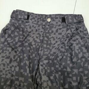 Columbia Snow Pants Kids Size M  10/12 Black Outgrow System