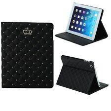 Luxury Crown Slim Smart Wake Leather Case Cover For iPad Mini 4