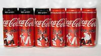 New Set Empty Cans Coca-Cola MUSIC GENRE from Ukraine 330 ml. 2020 - 6 pcs.