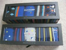 Duchamp 'London' Egyptian Cotton Socks - 5 Pairs in Presentation Gift Box