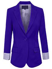 Womens Office Classic One Button Boyfriend Casual 12Color Blazer Jacket [NEWJ26]