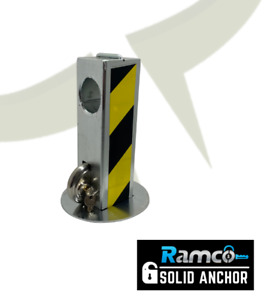 Ramco Solid Ground Anchor for Trailer Caravan Motorbike Quad Bike Chain Security