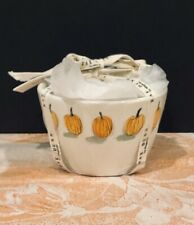 RAE DUNN Fall 'Pumpkin' Nesting Measuring Cups with Pour Spout 4-Piece Set NEW