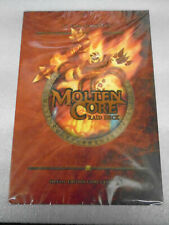MOLTEN CORE RAID DECK WORLD OF WARCRAFT TRADING CARD GAME  SEALED!