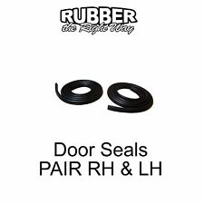 1980 - 1996 Ford F-150 / F-250 / F-350 Truck Door Seals PAIR
