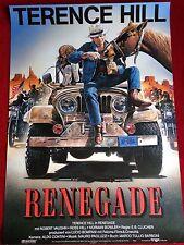 Renegade Kinoplakat Filmplakat Poster A1 Terence Hill, R. Casaro