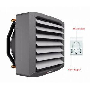 Lufterhitzer 32,7 KW inkl. Thermostat Stufenregler Hallenheizung Luftheizer