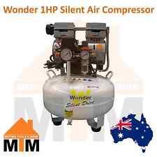 WONDER 1HP 750W Oil Free Oil Less Silent Quiet Air Compressor 135L/min 29L Tank