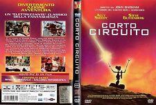 Corto circuito (1986) DVD 1° Edizione italiana della EAGLE OOP Fuori Catalogo