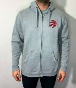 Fanatics Toronto Raptors Mens Gray Hoodie w/ Red Logo Size XL NBA