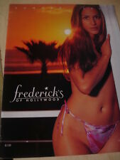 Fredericks of Hollywood lot of 3 Sale Clearance issues Summer 2001 - 2002 SEXY