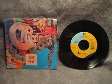 "45 RPM 7"" Record Chicago Come In From The Night & Look Away 1988 Reprise 7-27766"