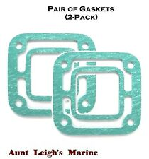 Pair (2-Pack) Exhaust Elbow Gaskets Volvo OMC Stern Drive 18-2875 3850495 908013