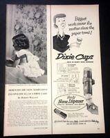 Life Magazine Ad DIXIE CUPS 1952 Ad A1
