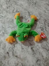 Ty Beanie Baby Smoochy Frog 1997 All Tags Intacted