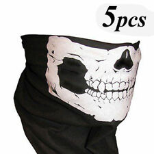 5 x Ghost Biker Skull Hood Face Mask Motorcycle Ski Balaclava CS Sport Helmet
