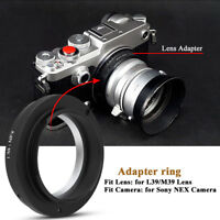 L39/M39-NEX Lens Manual Focusing Control Camera Transfer Adapter Ring Accessory