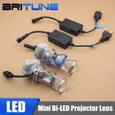 1.5 inch H4 LED Mini Projector Lens Headlight Bi-LED Headlamps Bulbs 60W 5500K