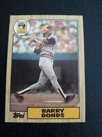 1987 Topps Baseball Rookie #320 Barry Bonds RC RC Pirates Giants