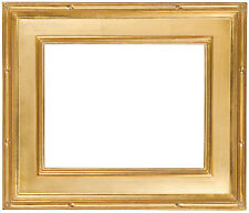 12 x 16 Picture Frame Hand Applied Gold Leaf Finish Gallery Style Awesom Quality