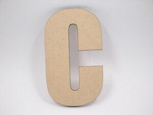 10cm Large MDF Wooden Letter Words Wood Letters Alphabet Name IMP
