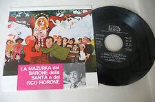 """AMEDEO TOMMASI""""LA MAZURKA DEL BARONE-disco 45 giri BEAT It1975""""OST-RARO/PERFETTO"""
