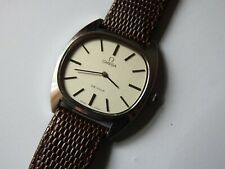 VINTAGE 1979 OMEGA DEVILLE MANUAL WIND 17JEWEL 626 CAL GENTS S/S WATCH