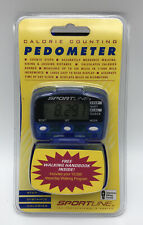 NIB Sportline Calorie/Step/Distance Counting Pedometer