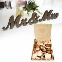 Mr&Mrs Holder Wooden Wedding Heart Drop Box for Guest Book Message Rustic Decor