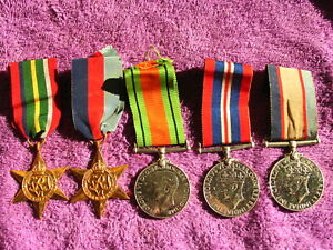 AUSTRALIA WW2 NX21858 JOHN F R KENYON with SMITH'S RESEARCH MEDALS