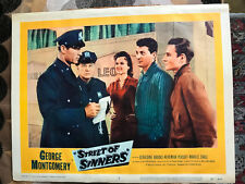Street Of Sinners 1957 United Artists George Montgomery Marilee Earle