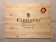 1 Rare Wine Wood Panel Carpineto Chianti Italy Vintage CRATE BOX SIDE 8/20 772