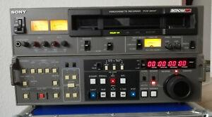 Sony PVW-2800P Video Recorder Betacam SP Rundfunk Video Cassette Recorder