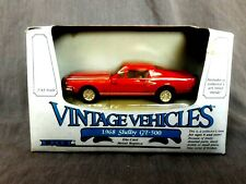 ERTL Vintage Vehicles 1968 Shelby GT 500 Red Diecast 1:43 #2804 car New in Box