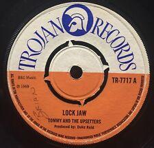 "TOMMY & THE UPSETTERS :: Lock Jaw 7"" vinyl . Trojan"
