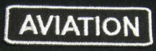 AVIATION Iron-On Patch/Badge for Hat/Cap/T-Shirt/Bag 25P