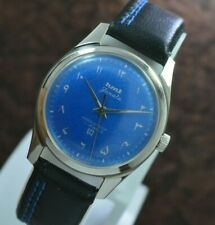 Vintage Hmt Janata Urdu Figure 17 Jewels Para Shock Hand Wind Men's Wrist Watch