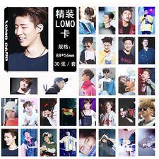 30pcs set Kpop iKON B.I Personal Photo Picture Poster Lomo Card