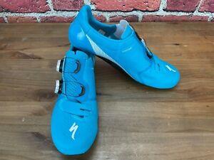 Men's S-works 7 Road Shoes Nice Blue 43.5 EU 10.25 US Cycling 3-Bolt