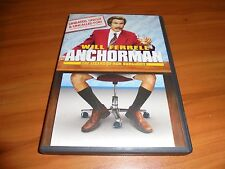 Anchorman: The Legend of Ron Burgundy (DVD, 2004 Extended Widescreen) Used