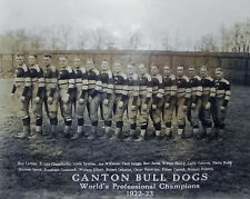 Canton Bulldogs  - 1923 National Football League Champions, 8x10 Team Photo