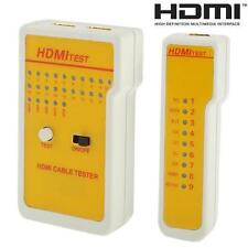 9 LED Indicators HDMI High Definition Cable Tester Tool PHNG