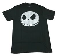 Disney's The Nightmare Before Christmas Jack Skellington Big Head Men's T shirt