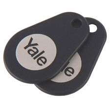 NEW x2 Yale  Keyless Connected Key Tags 2 Pack UK SELLER, FREEPOST